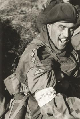 Chaplain after capture at Arnhem 1944
