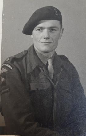 Lt Gordon Royle in uniform