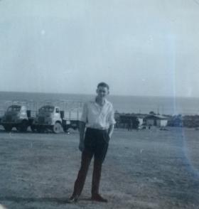 Michael D Paternoster in Dhekelia April 1963