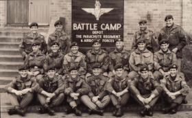 PARA DERING LINES Brecon Battle Camp Photo 1961