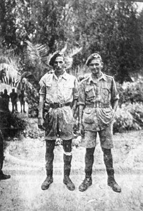 Sgt Fred Meadows & Cpl Trevor Warden, Italy 1943