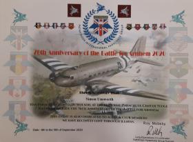 76th Anniversary Arnhem Parachute Jump