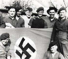 Members 2 Coy, 6th Airborne Div Signals , Melbeck 1945