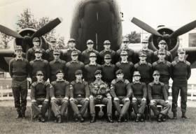 Dick Trigger at the Para Depot 1975, Browning Barracks, Aldershot. 421 Platoon