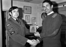Christopher J Allen at RAF Aldergrove 1979