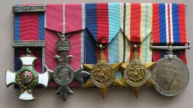 Medals of Lt Col TAG Pritchard DSO MBE OC of X-Troop, 11th SAS