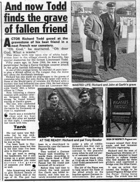 News Of The World article. June 1994