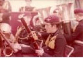 1 PARA Band in Berlin, 1975.