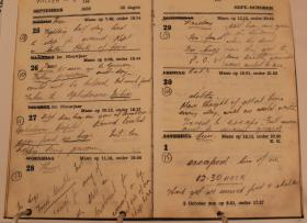 Diary Entries of Spr Alan W Gauntlet Sept and Oct 1944
