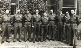 The Parachute Regiment, Regimental Colonel's Conference, Maida Barracks, Aldershot - 1961