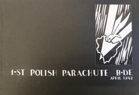 Sketch book documenting Para training of 1st Polish Parachute Brigade 1942
