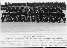 12/13 Yorks & Lancs Regimental Birthday 1961