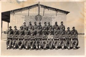 6 AB Div NCO Cadre Course Almaza, Egypt 26 March 1946