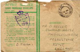 D Keeler letter to his father 17 March 1945 DDay Dodgers