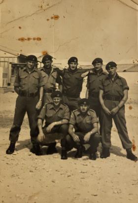 Bahrain 1964 9 Para Sqn RE