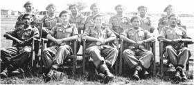 A Platoon with John B Sanderson, India
