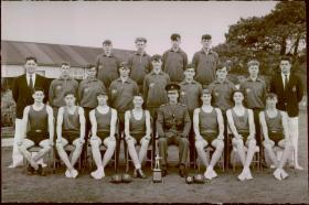 Jnr Guardsmen Coy Boxing Team Pirbright 1965