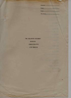 Para Depot Programme 1974 to 1980