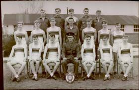 Pirbright 1965 Jnr Guardsmen Cross Country Team