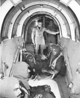 Training inside a Whitley