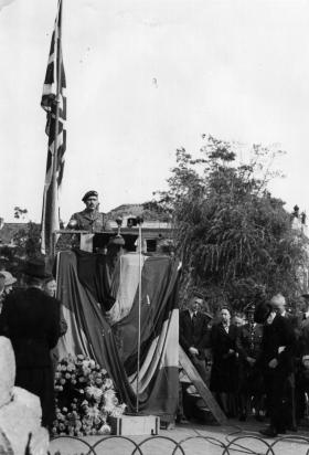 Airborne commemoration on 17 September 1945 Arnhem