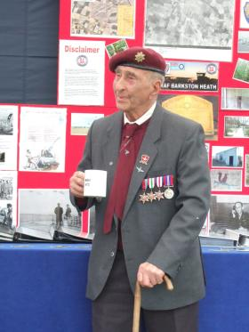 Barkston Heath Memorial, LINCS 31 May 2014