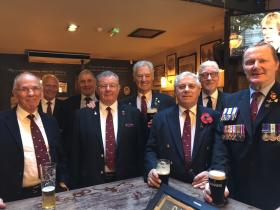 Ernie Plumb and fellow veterans