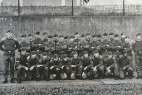 1 Platoon, A Company, 2 Para in Normandy Barracks, Aldershot about 1972