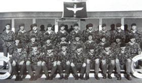 4 Pln B Coy 3 Para SS Canberra 1982
