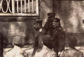 Montgomery and General Rokossovsky VE Day