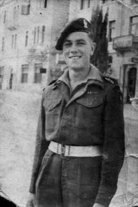 Richard WH Bruce in battle dress post war