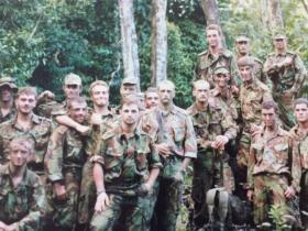 11 Pln D Coy 2 Para in Belize Feb 1987