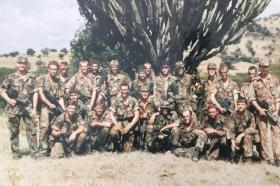 11Pln D Coy 2 Para Kenya Oct 1987