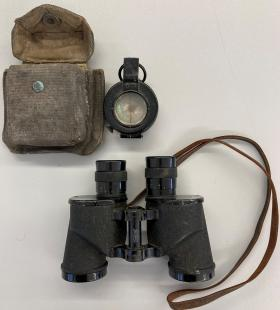 Compass and Binoculars of FG Tansley