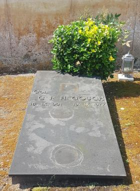 Freddie Gough Grave in Sorrento, Italy