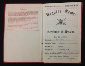 Joseph O'Donnell certificate of service