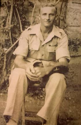 Ronald CW Sharlott C1946 Palestine