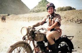 Lance Corporal Bill Brittain in Egypt- June, 1946