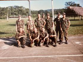 2Pl A Coy 2Para Salamanca Camp Belize 1987