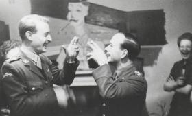 Capt's. John Brown & Chris MacMillan. 1945