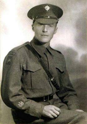 RSM Michael Briody. No 2 Wing, GPR. 1942