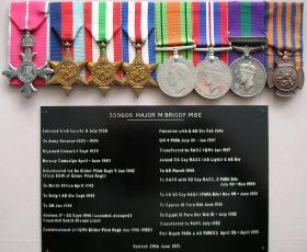 Medal set of RSM Michael Briody