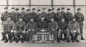 3 Platoon, 'A' Company, 2nd Battalion, The Parachute Regiment. Operation BANNER tour, Crossmaglen, South Armagh, Northern Ireland. 1984-85