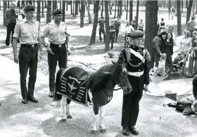 'Cpl Ringway' on deployment to Berlin with 1 PARA, c.1974