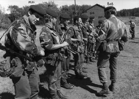 X Vigilant Platoon Canada c1977