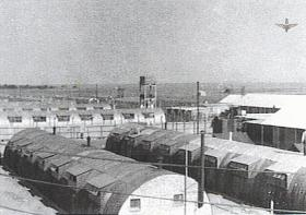 A picture of Camp K where we had to Guard the EOKA Prisoners