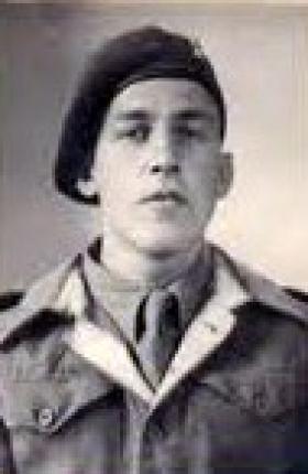 Lance Corporal Pedersen, c1947.