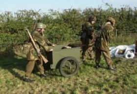 Restored airborne handcart