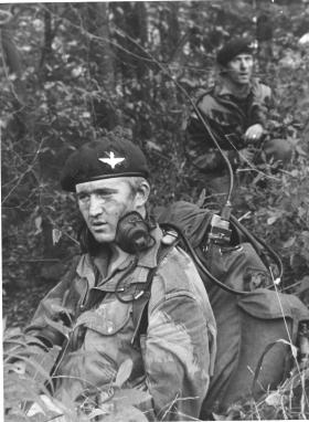 Pte Stewart Clark on exercise in Germany circa 1971/72