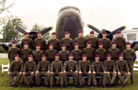 443 Platoon, Aldershot, 1977